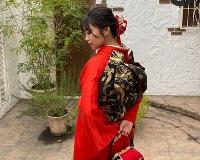 【朗報】大原優乃「幸せな成人式」 赤色の振袖姿を披露 ファン絶賛「超超超かわいすぎる」