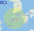【画像】台風14号の進路、なんかおかしい