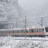 雪の日の通勤特快 Yanagawa