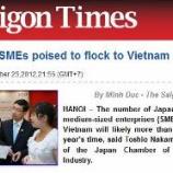 『東南アジアの就職先としてお勧め国ベトナムの求人増加』の画像