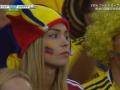 【画像】コロンビアの即ハボ美人サポーターwwwwwww