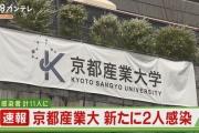 【新型コロナ】京都産業大学のコロナテロ、感染がまだ広がる・・・・