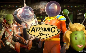 【アトミックショップ】宇宙をテーマにした新規のアイテムとアトミックセール!