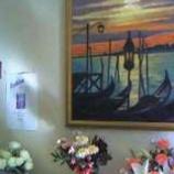 『カフェ・マパスさんで橘見智恵油絵展開催中です』の画像