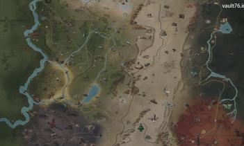 Fallout 76 全体マップ