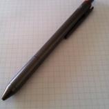 『ロットリング「4 in 1」のインクが切れたので、リフィル交換してみた。』の画像