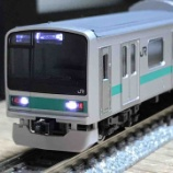 『TOMIX 209系1000番台(常磐線各駅停車タイプ)入線!』の画像