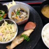 『今日の太田昼食(鰆の山椒焼き)』の画像