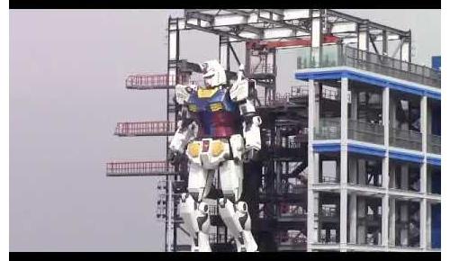 横浜の「動く実物大ガンダム」の完成度が凄いものになりそうと海外で話題に