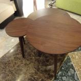 『【一・三惚れ市】 ウォールナット材のCOZY living table 』の画像