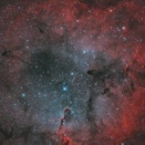 IC1396 LRGB+AOO合成