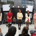 東京大学第63回駒場祭2012 その79(ミス&ミスター東大コンテスト2012・5人であいさつ)