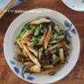 時短で野菜のあと一品!小松菜とちくわのオイスターソース炒め