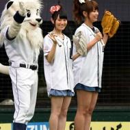 【画像】声優・井口裕香&小倉唯がパンチラ始球式wwwwww アイドルファンマスター