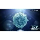 『2015年4月5日放映 NHKスペシャル「新アレルギー治療~鍵を握る免疫細胞~」から、Tレグ(制御性T細胞)の重要性についてやっていた。』の画像