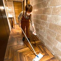 店内の清掃、除菌を徹底しています