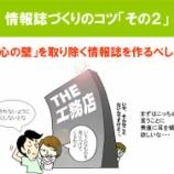 『情報誌づくりのコツ③【875日目】』の画像