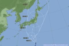 台風12号 週末関東直撃へ