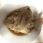 『真鯛のかぶと煮』の画像