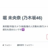 『【乃木坂46】堀未央奈に755をブロックされた理由がこちら・・・』の画像