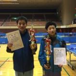 『第46回仙台市中学生新人卓球大会 結果 【 仙台ジュニア 】』の画像