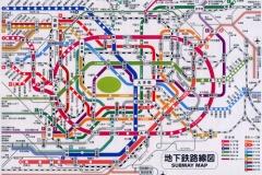 中国人「東京の地下鉄はクレイジー過ぎるw目的地まで何通りの行き方が出来るんだよww」