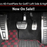『maniacs Left Side+Right Side 4D-FootPlate for Golf7 発売!』の画像