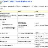 『戸田市役所が本日臨時停電で、ホームページをみることができません』の画像