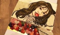 桜井玲香へのケーキが激似www