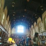 『オックスフォードにハリーの食堂を訪ねて』の画像