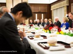 【 画像 】内田篤人、安倍首相と独大統領の夕食会に招かれる!