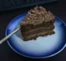 チョコケーキ作った