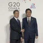【韓国】文大統領-安倍首相、「8秒握手」で終わり、略式会談さえなかった…。 [海外]