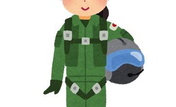 【画像】元自衛官のJKコスプレが最高!カッコイイ可愛い