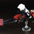 LEGOでSTAR WARSのスピーダーバイクを作りました。