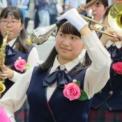 2016年横浜開港記念みなと祭国際仮装行列第64回ザよこはまパレード その19(大西学園中高等学校吹奏楽部)