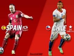 【速報】前回王者のスペイン、0-2でチリに敗れグループリーグで姿を消す!(動画あり)