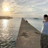 『マジックアワーの夕日に映える西野七瀬! 素敵な写真ですね【乃木坂46】』の画像