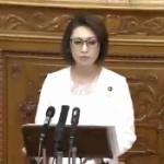 【動画】国会、自民党・三原じゅん子が野党に対し「恥を知れ!」とハマーン様ばりの演説