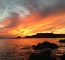 新海誠の世界にしか見えない... 息をのむほど美しい田園の夕暮れがこちら