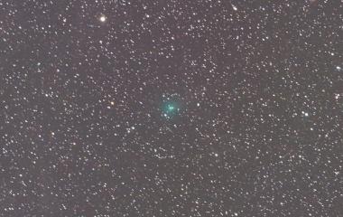 『遠ざかるアサシン彗星(C/2017 O1)が北極星のご近所を移動中!』の画像