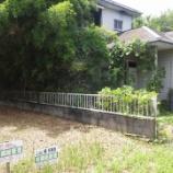 『八街市朝日 廃屋と空き家に挟まれた売地』の画像