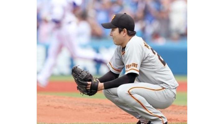 巨人・野上亮磨  4.81  3勝2敗