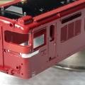 TOMIX 7151 ED75 700 後期型の精密加工整備  767号機にする その④