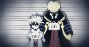 【暗殺教室】第11話 感想 試合形式の暗殺とは。イカ娘も兄弟じゃなイカ?