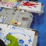 『絵の具で遊んだよ 街かどアートすぽっと11/15活動報告』の画像