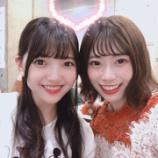 『この組み合わせはレア!東村芽依のブログに上村莉菜との2ショットを公開!』の画像