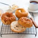 【パン教室】ベーグルとクリームパン♪