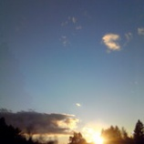 『秋の夕暮れ』の画像