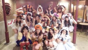 AKB48北原里英「あ!! わたしNEWSに出てる!、 食べてる(笑」
